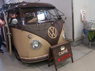 フェレットショーのカフェ